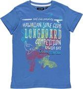 Blue Seven Jongens T-shirt - Blauw - Maat 140