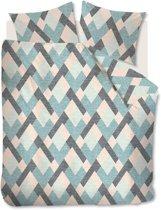 Beddinghouse Montero - Flanel - Dekbedovertrek - Tweepersoons - 200x200/220 cm + 2 kussenslopen 60x70 cm - Pastel