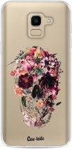 Casetastic Softcover Samsung Galaxy J6 (2018) - Transparent Skull