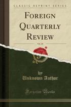 Foreign Quarterly Review, Vol. 20 (Classic Reprint)