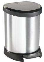 Curver Decobin 5 Liter Zilver