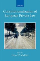 Constitutionalization of European Private Law