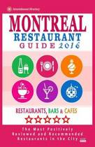 Montreal Restaurant Guide 2016