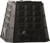 Nature - Compostbak - Zwart - 400L - Eenvoudig te monteren
