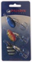 Paladin kunstaas spinner II - assortiment - roofvissen - 3delig