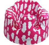 Bumbo floorseat cover - Bumbo hoes - Wolk Roze