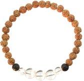 Bergkristal Mala Armband | Shaula | XL - 21 cm