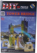 Jonotoys 3d Puzzle Tower Bridge Met Licht: 48-delig