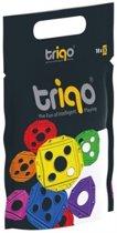 TriQo Booster pack vierkant blauw: 10 stuks (010260)
