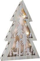 Small Foot Verlichte Kerstboom Klein 37 Cm Hout Grijs