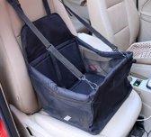 Stoelbeschermer - Autostoel beschermhoes voor honden - Stoelhoes - Honden autostoel 40 x 30 cm - Zwart