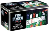 Texas Hold'em Pro Poker In Tin Set
