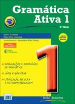 Boekomslag van 'Gramática Ativa - Versao Brasileira (Segundo o Novo Acordo Ortográfico) 1'