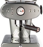 illy X1 Ground - Pistonmachine - RVS (voor gemalen koffie)