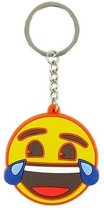 Comansi Sleutelhanger Laughter Crying Face 10 Cm Geel
