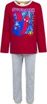Spiderman pyjama maat 3 (98cm)