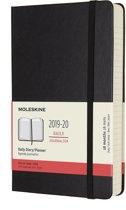Moleskine 18 maanden agenda 2019-2020 - Dagelijks - Large (13x21 cm) - Zwart - Harde kaft