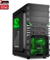 ScreenON - AMD R3 2200G Game PC (Geschikt voor For