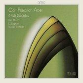 Abel: 4 Flute Concertos / Kaiser, Schneider, La Stagione