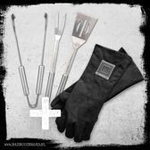Tuff BBQ Gloves + Choose Your Weapon - BadBoysBrand - Made in Jail