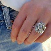 Sundance moonstone ring - maat 18.00 mm / maat 57
