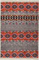 Havana Print Vloerkleed met Antislip zijde - 120X180 cm - Oranje