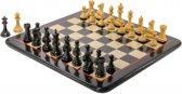 Dominator Schaakspel, bord met stukken uit Indiaas hardhout-Top-Kwaliteit