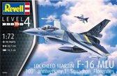Revell Modelbouwdoos F-16 Mlu 20 Cm Schaal 1:72