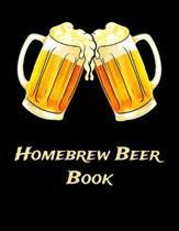 Homebrew Beer Book: Beer Brewer Log Notebook