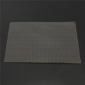 210 × 300 mm roestvrij staal 5 mesh filter watergaas gaas filtratie geweven draad