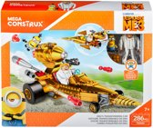 Mega Bloks Minions 3 Dru's Transformerende Auto - Constructiespeelgoed