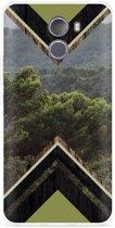 Wileyfox Swift 2X Hoesje Forest wood