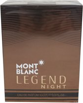 Mont Blanc Legend Night By Eau De Parfum Spray 100 ml