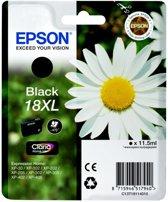 Epson 18XL (T1811) - Inktcartridge / Zwart / Hoge Capaciteit