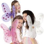 16 stuks: Vleugels Bridget in 3 kleuren - assorti - 50x40cm