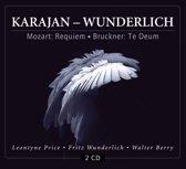 Mozart: Requiem / Bruckner: Te Deum