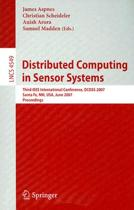 Distributed Computing in Sensor Systems