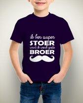 Ik word grote broer Tshirt | 104cm | Navy Blue