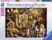 Ravensburger puzzel Merlijns laboratorium - legpuzzel - 1000 stukjes
