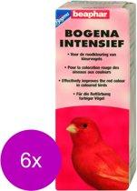 Beaphar Intensief Rood - Vogelsupplement - 6 x 10 g