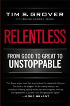 Boek cover Relentless van Tim S. Grover (Paperback)