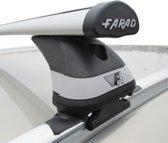 Faradbox Dakdragers VW Tiguan 2007-2016 gesloten dakrail, luxset, 100kg laadvermogen