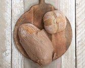 Dassie Artisan Ronde serveerplank – Mangohout