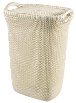 Curver Knit Wasbox - 57 l - Wit