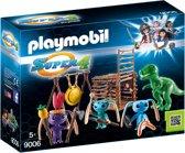 PLAYMOBIL Alien krijgers met T-Rex  - 9006