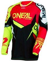 O'Neal Crossshirt Hardwear Flow True Red/Hi-Viz-XXL