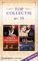 Topcollectie 15: Vurig & verlokkelijk / Opwindende nacht met de miljonair, 6-in-1