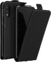 Accezz Flipcase voor de Samsung Galaxy A40 - Zwart