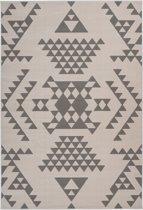 Kayoom - Vloerkleed - Esperanto 625 - Creme/Taupe - 160x230cm
