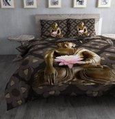 Dreamhouse Bedding Zen Dekbedovertrek - Eenpersoons - 140 x 220 cm - Multi